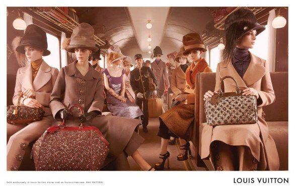 Ad campaign Louis Vuitton woman 2012