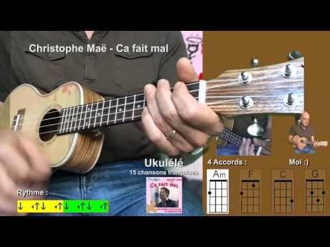 15 chansons françaises - Am F C G [Tuto Ukulélé] by Terafab - YouTube