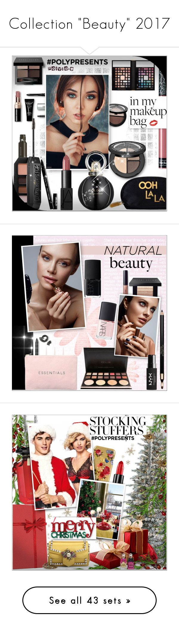 """""""Collection """"Beauty"""" 2017"""" by alves-nogueira ❤ liked on Polyvore featuring Beauty, makeup, beauty, Bobbi Brown Cosmetics, Sephora Collection, Rosanna, NYX, Bulgari, Kat Von D and Christian Louboutin"""