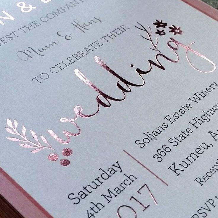 124 best Wedding Stationery NZ images on Pinterest | Wedding ...