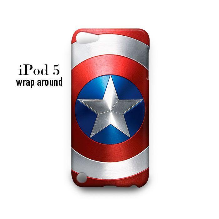 Shield Captain America iPod Touch 5 Case Wrap Around