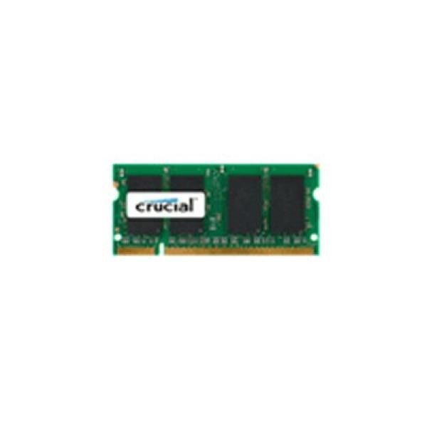 25,61€ Memoria RAM Crucial IMEMD20046 CT25664AC800 SoDim 2 GB DDR2 800 MHz CL6 in vendita in offerta su TakkaT.eu - Se sei un appassionato d'informatica ed elettronica, ti piace stare al passo con la più recente tecnologia senza lasciarti sfuggire nessun dettaglio, acquista Memoria RAM Crucial IMEMD20046 CT25664AC800 SoDim 2 GB DDR2 800 MHz CL6al miglior prezzo.