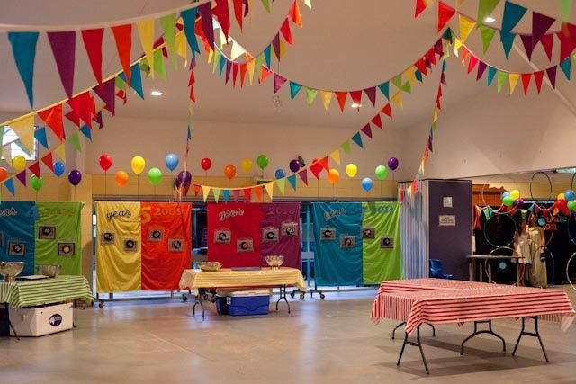 how to decorate a school for a carnival - Google Search