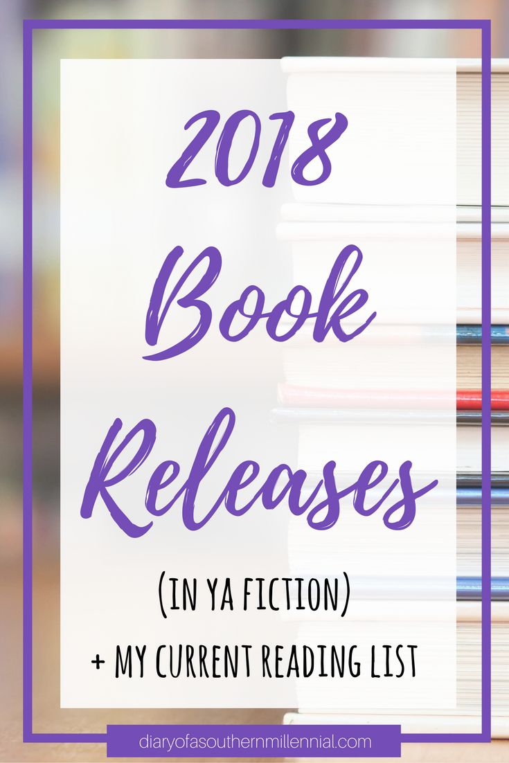Check out all the books that are on my to-read list and see all of the 2018 book releases I'm looking forward to this year!