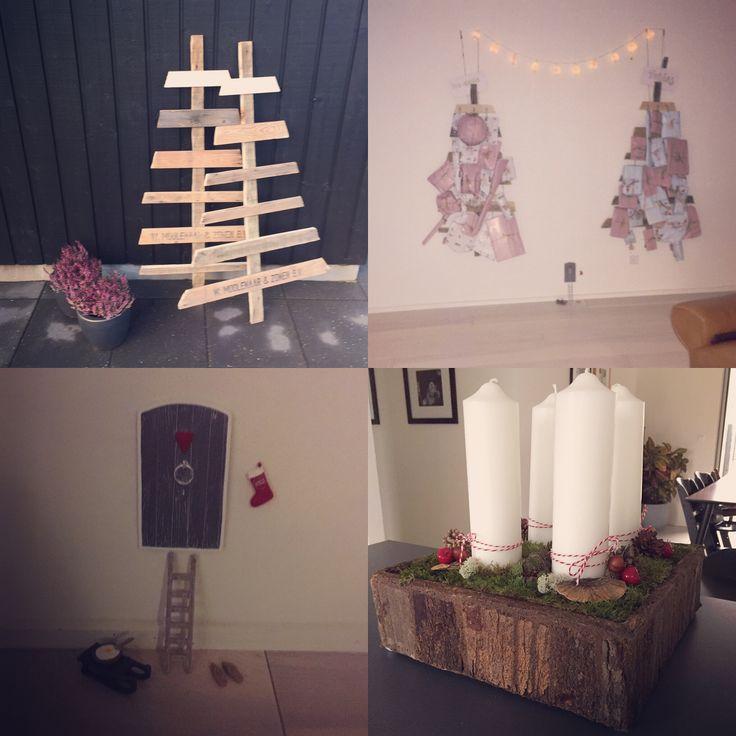 Christmas decorations. Kalendergaver osv.