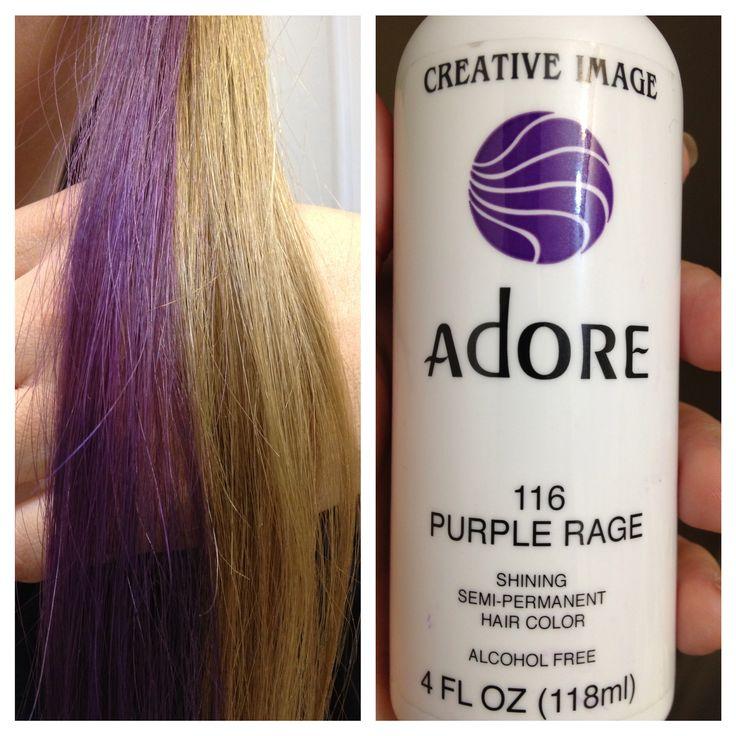 Adore Hair Color Purple Rage Adore 116 Purple Rage