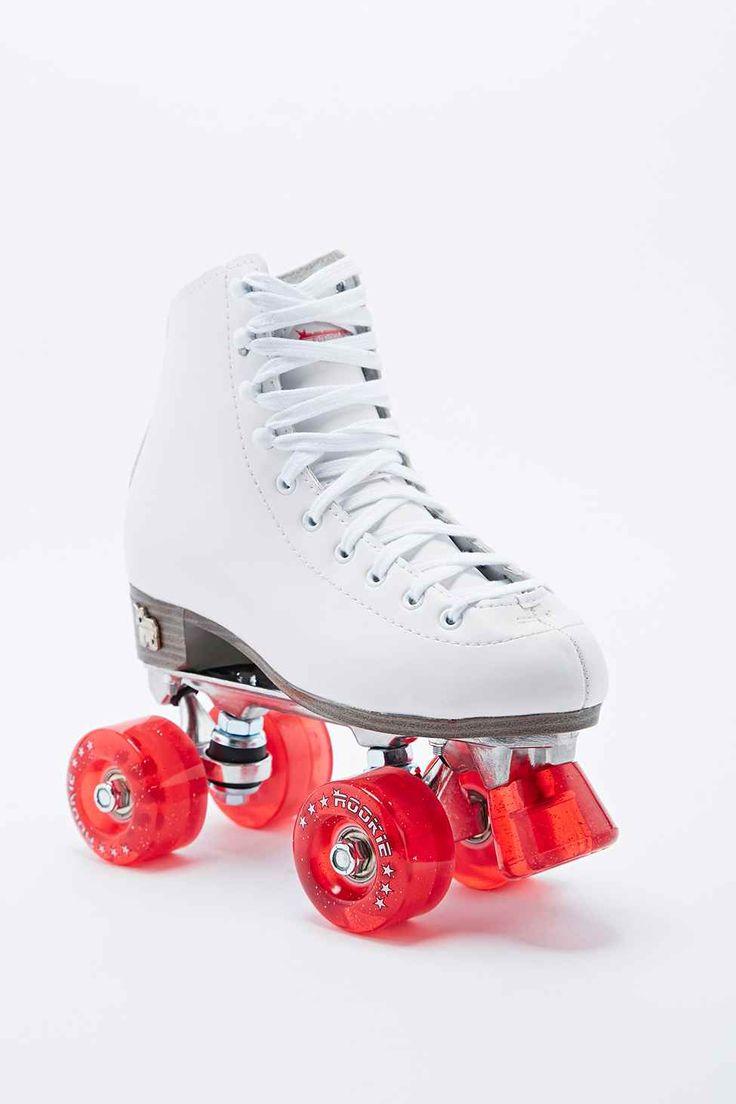 Zoella roller skates - Rookie Klassische Rollschuhe In Wei Retro Roller Skatesroller