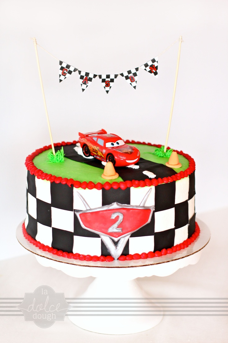Cars Cake - La Dolce Dough, Sylvania Ohio