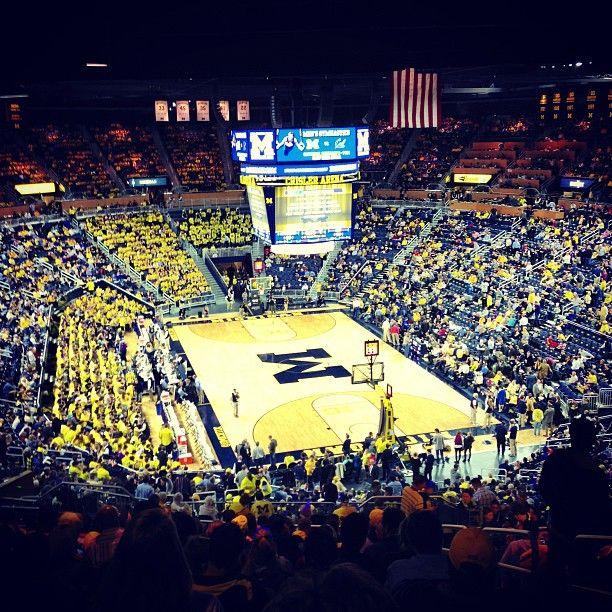 University Of Michigan Basketball http://www.mgoblue.com/facilities/crisler-center.html