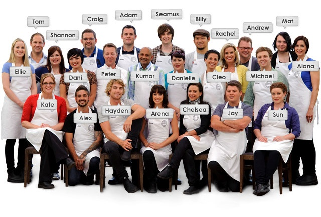 MasterChef Australia 2011 - awesome show - didn't even care that I knew who won. It was a brilliant and inspirational season!