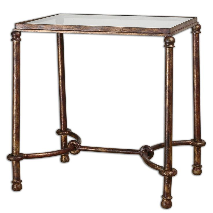Shop For Uttermost Warring Iron End Table, And Other Living Room Tables At  Abe Krasne Home Furnishings In Fremont, NE Inspired By Ancient Horse  Bridles, ...