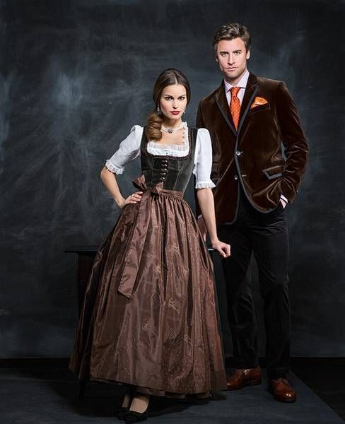 Classy dirndl and jacket combination
