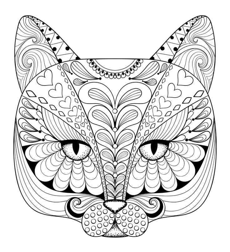 651 best Coloring - Animals images on Pinterest   Coloring books ...