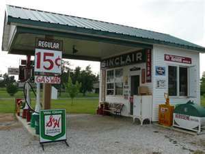 Route 66 Mo.You'll never ever see these gas prices again!! 15 cents.