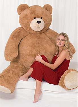 6' Giant Hunka Love™ Bear. Now that is what I call a teddy bear.
