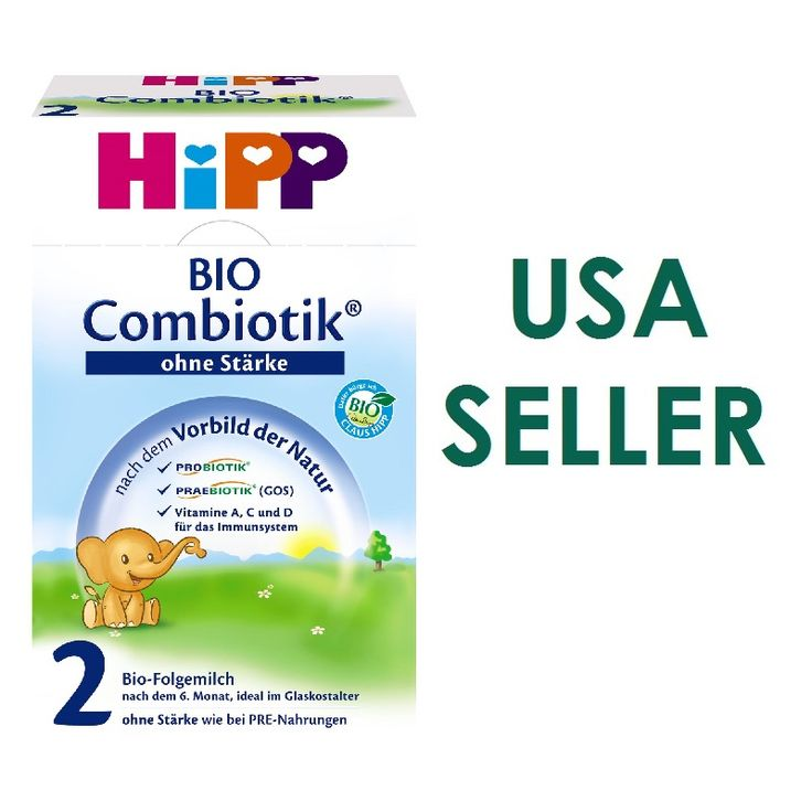 HiPP BIO Combiotik® Stage 2 Without Starch from 6 Months 600g (German Box And Formulation)