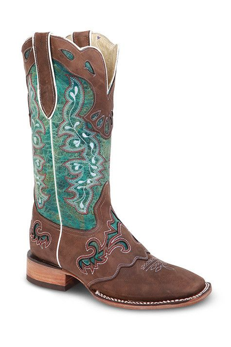 Redhawk Cowgirl Boots - 5200 Blue