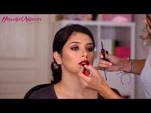 Pelin Akil Gelin Makyajı Hamiyet Akpınar - YouTube
