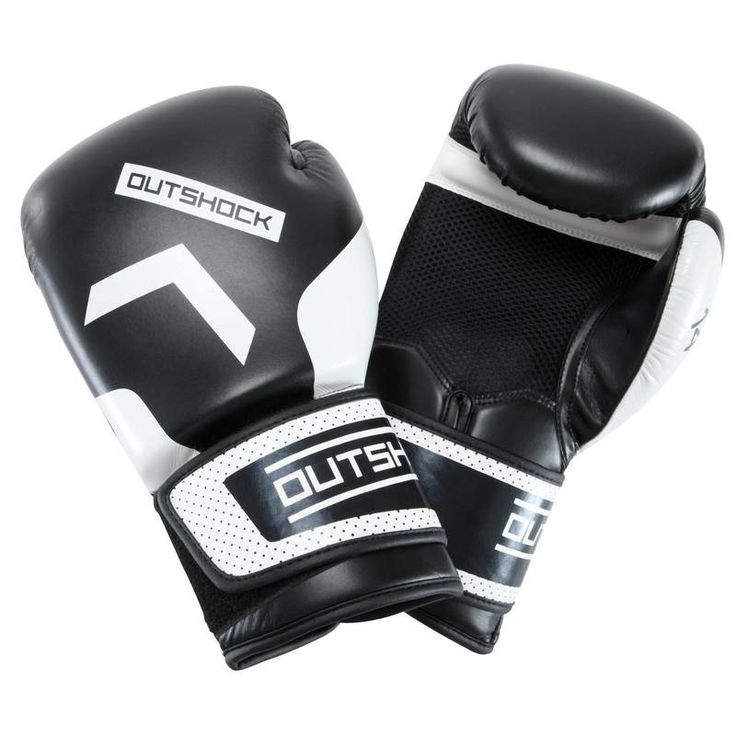 SPORTS DE COMBAT Sports de combat Sports de combat - Gants Boxing Gloves 300 Noirs OUTSHOCK - Sports de combat