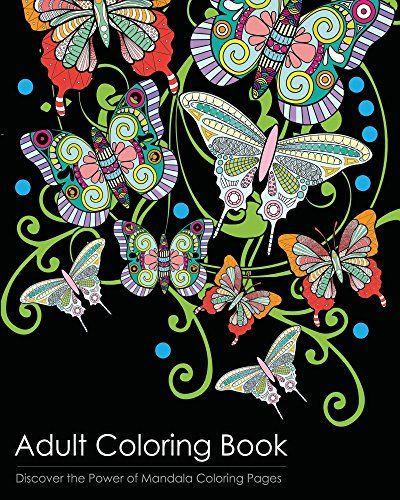 Adult Coloring Book Discover The Healing Power Of Mandala Pages Paperback