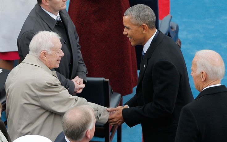 cool Can Obama Live Up to Carter's Gold Standard as Ex-President? Check more at https://epeak.info/2017/03/17/can-obama-live-up-to-carters-gold-standard-as-ex-president/
