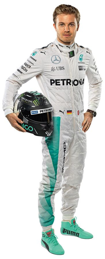 F1 2016 Driver - Nico Rosberg wall graphic