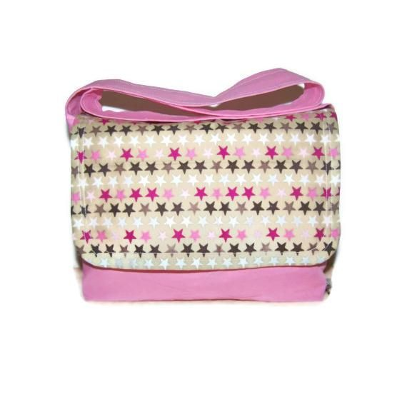 $25.00 Childs Messenger Bag with Zip Purse by With2LittlePeas on Handmade Australia