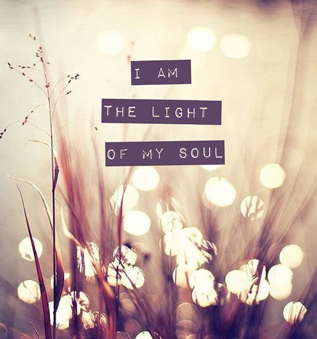 I am the light of my soul. I am beautiful, I am bountiful, I am bliss. I am. I am - Yogi Bhajan