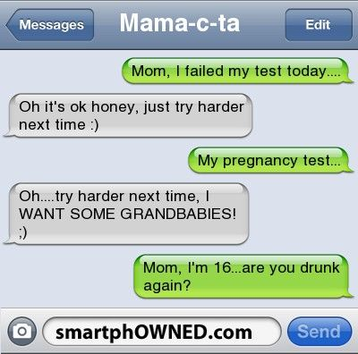 Texts from the 10 Worst Parents in the World - Autocorrect Fails and Funny Text Messages - SmartphOWNED