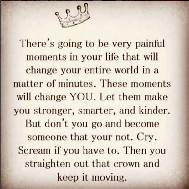 I LOVE THIS! Keep moving forward!