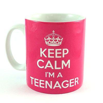 NEW KEEP CALM I'M A TEENAGER GIFT MUG CUP PRESENT 13TH BIRTHDAY IDEA TEEN