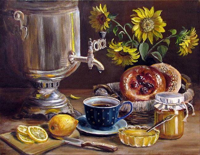 праздничных вечерний чай ретро картинка дольше открыт, тем