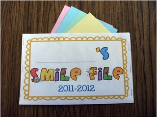 So cute!  Totally doing this instead of the traditional autograph book!