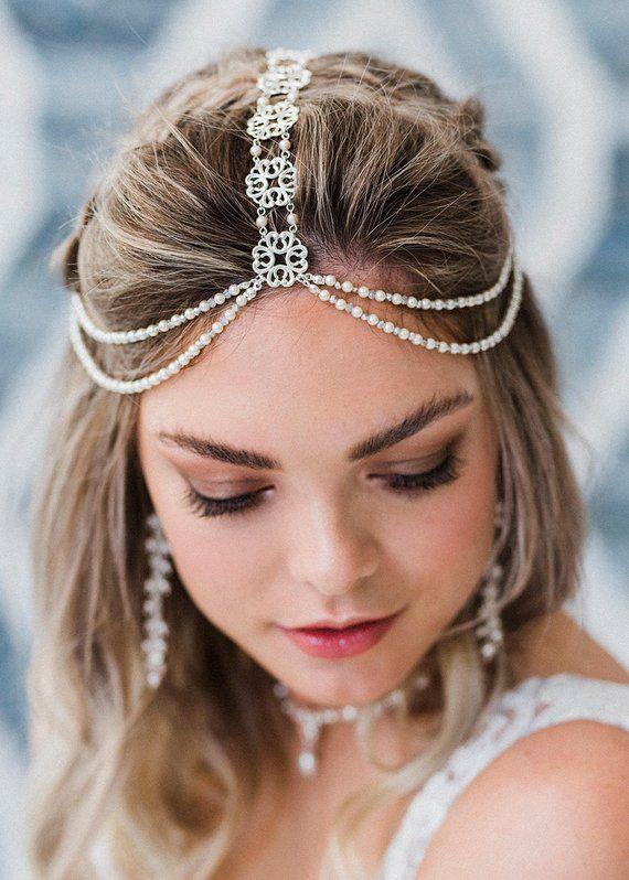 Valencia Boho Bridal Headpiece