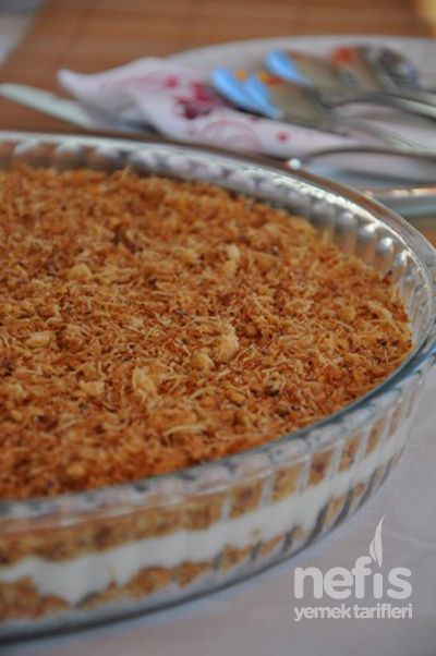 Muhallebili Kadayıf – Nefis Yemek Tarifleri