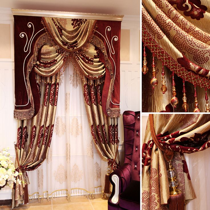 High Quality New Fashion Curtains Bedroom Luxury Decoration Cloth And Voile  Butterfly Curtain Semi Light Shading Home Valance | Elegant Draperies ...