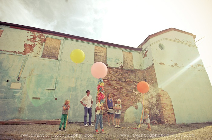 geronimo giant 36 inch huge balloons family session photography color stylized bright fun lollipop mustache ohio fun