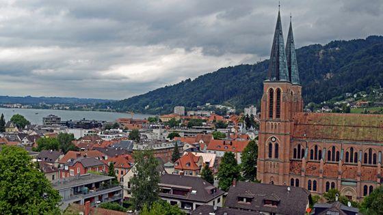 Sonhos Vividos: Bregenz - View from Martinsturm