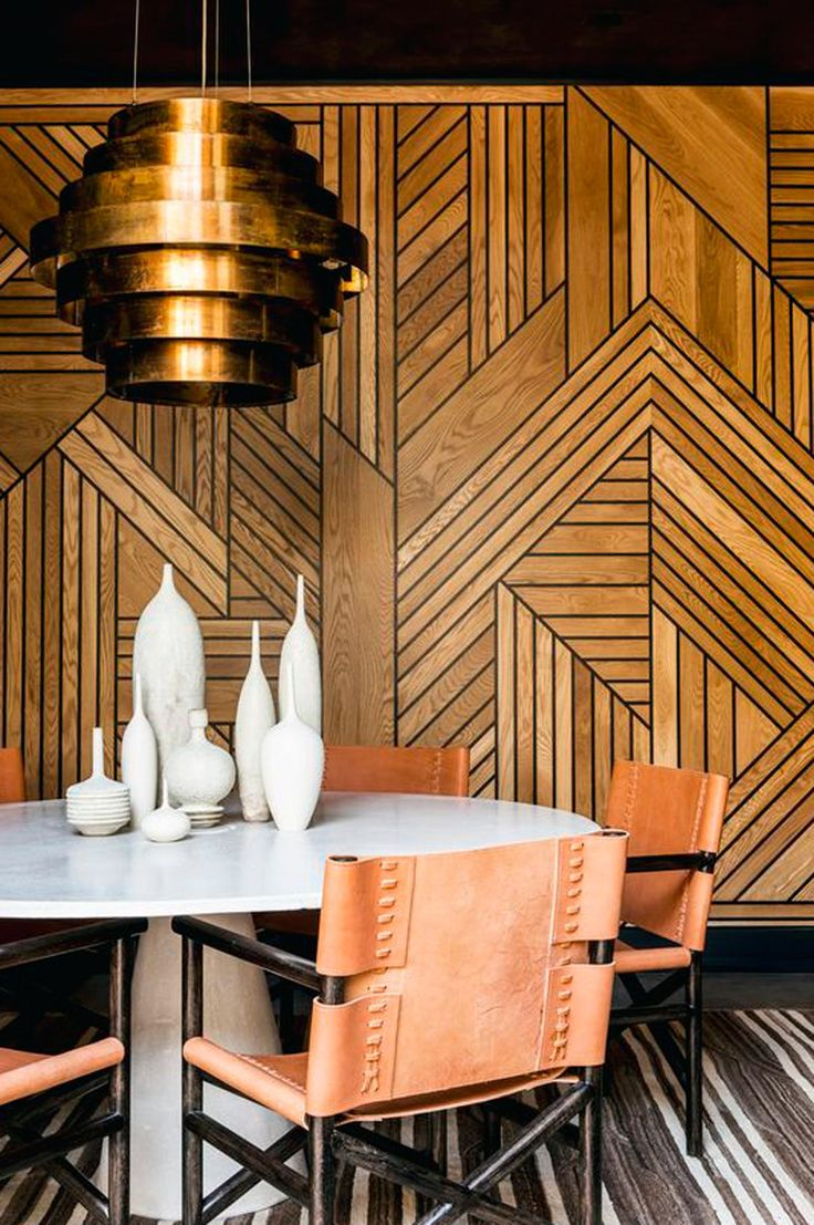 9 stunning timber feature walls you need to see now. Image via A Fabulous Challenge.