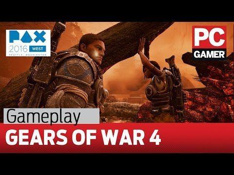 Одиннадцать минут PC-версии шутера Gears of War 4 |