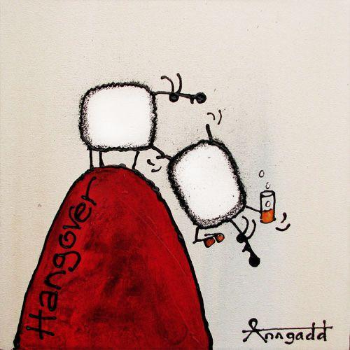 """Hungover"" by Ann Gadd"
