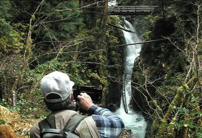 Washington State Tourism Sol Duc Falls