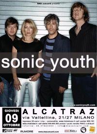 Sonic Youth @ Alcatraz, Milano MI 09-X-08