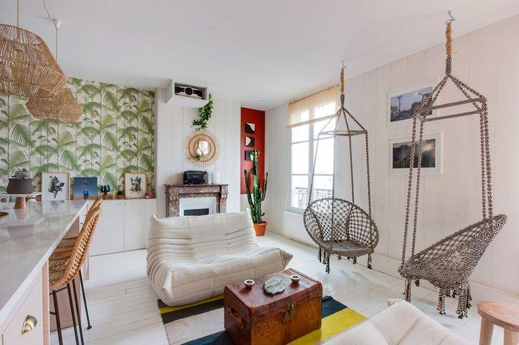 Un apartamento de estilo surfero en París