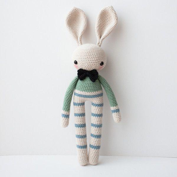 Puppen - Häkel Figur Hase Henri - ein Designerstück von olialemon bei DaWanda