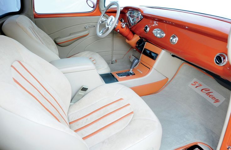 396 Best Tri Five Interiors Images On Pinterest Chevy