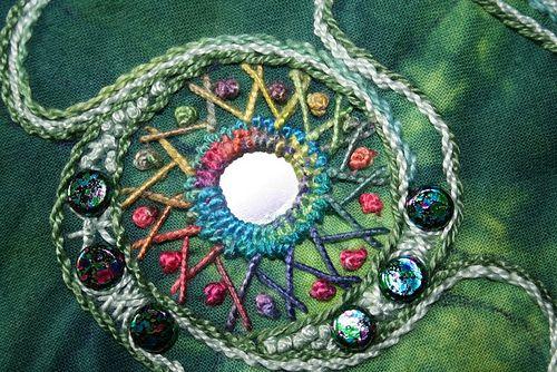 Shisha Embroidery | Shisha by Karen Cattoire