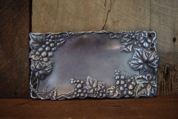 Arthur Court Rectangular grapes bread tray by lostartdesigns