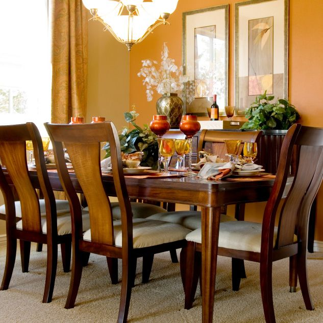 Dining Room Accent Colors