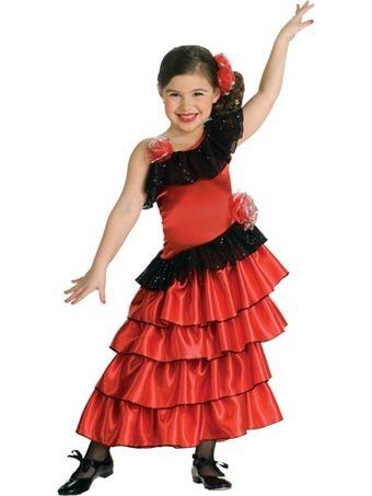 Spanish Princess Costume   Girls International Halloween Costumes
